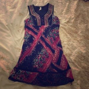 Free People beaded floral dress
